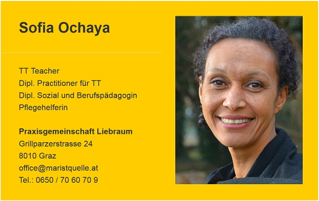 sofia ochaya therapeutic touch behandlung teacher pflegehelfer berufspädagogin energetikerin